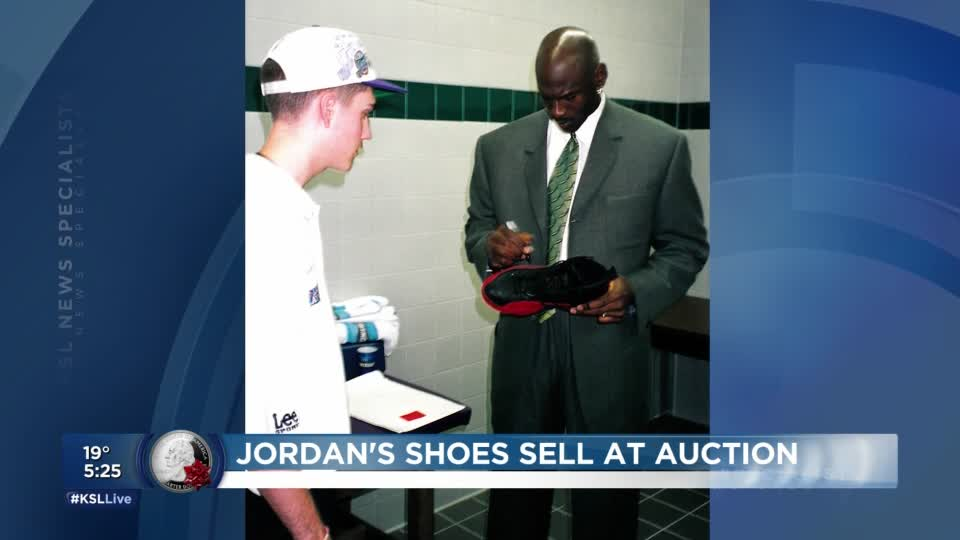 5PM: Michael Jordan 'flu game' shoes auctioned for $104K