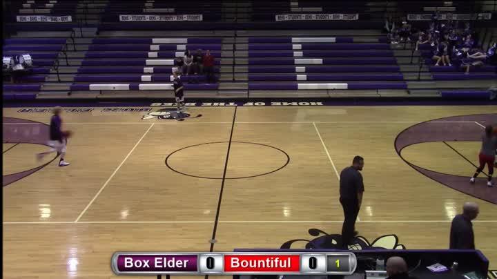 Box Elder vs. Bountiful; Girls Basketball