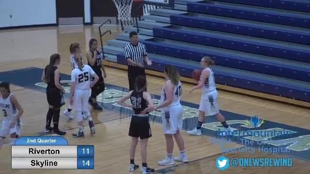 Skyline at Riverton - girls basketball