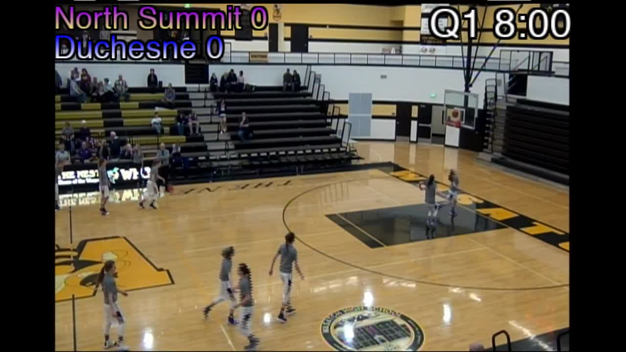2A play-in game: Duchesne vs. North Summit at Wasatch High