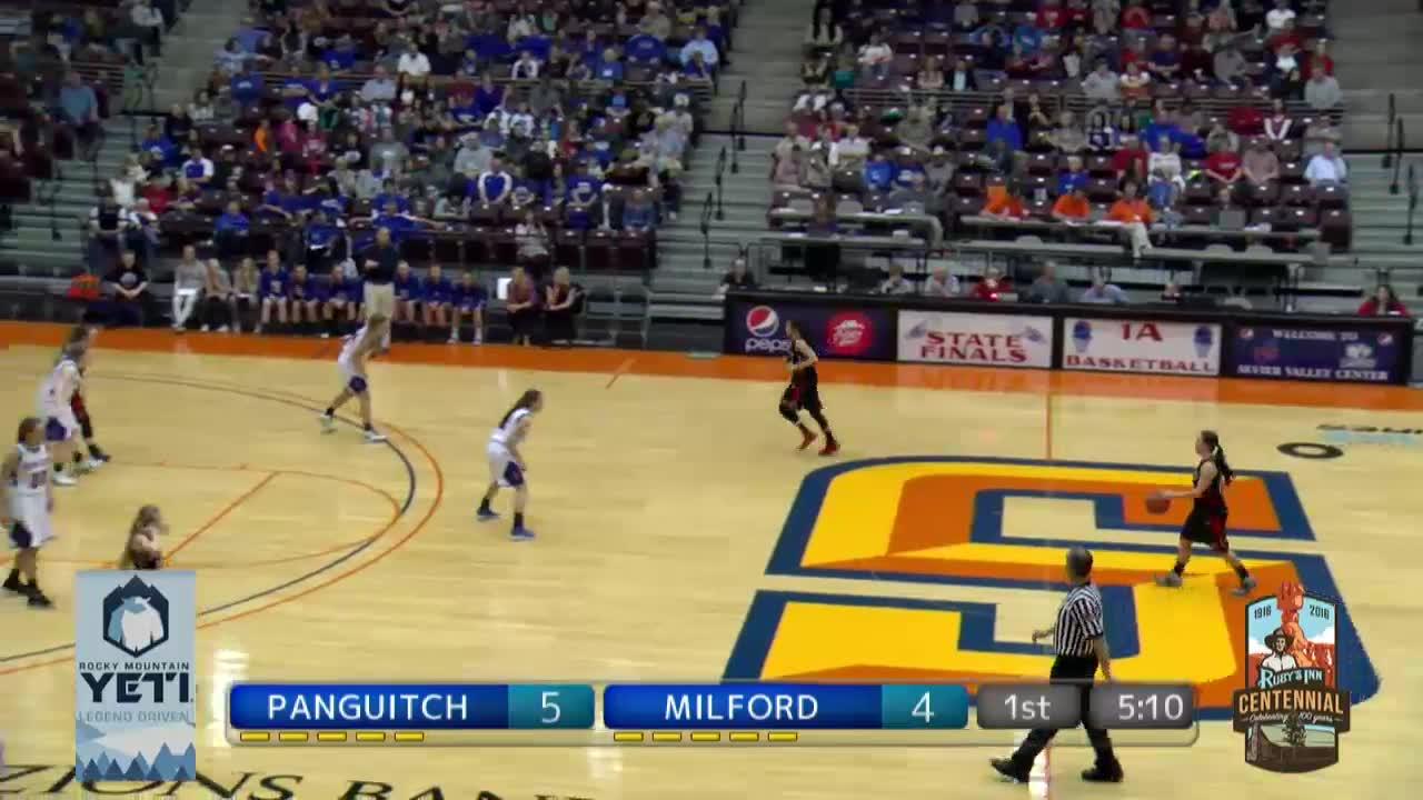 1A girls championship: Panguitch vs. Milford