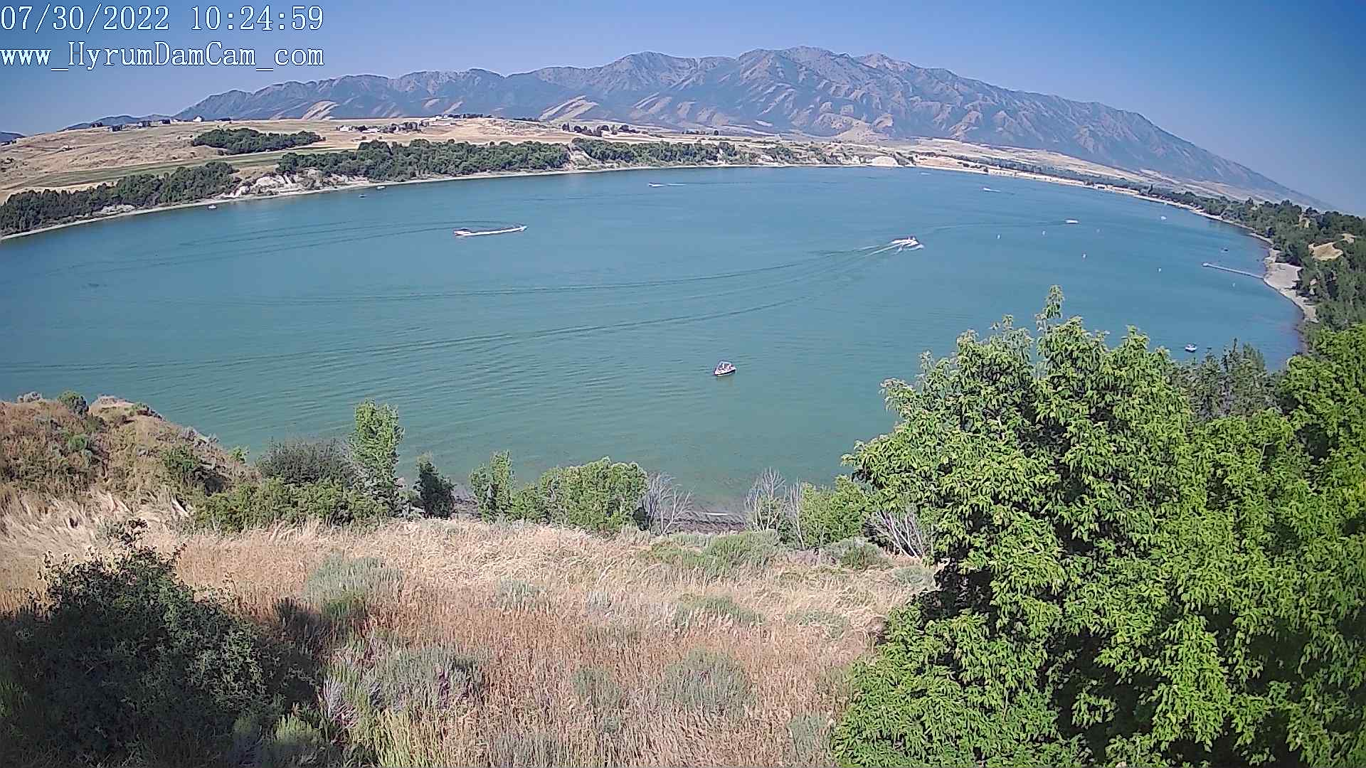 Hyrum Reservoir - West